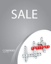 Business: Business Game Sale Poster Template #06968