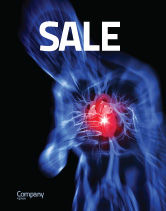 Medical: Heart Catadrome Sale Poster Template #06982