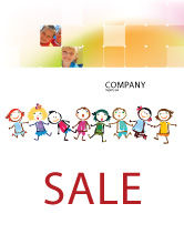 Education & Training: Funny Kids Sale Poster Template #07045