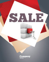 Consulting: Fitting the Part Sale Poster Template #07093