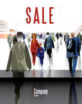 People: Crowded Place Sale Poster Template #07162