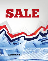 Financial/Accounting: Rates and Charts Sale Poster Template #07174