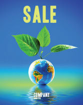 Global: Fertile Earth Sale Poster Template #07199