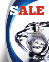 Medical: World Healing Sale Poster Template #07228