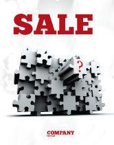 Consulting: Modelo de Cartaz - puzzle de 3 dimensões #07476