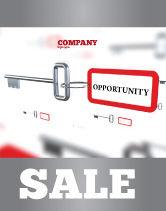 Consulting: Modelo de Cartaz - oportunidade chave #07495
