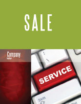 Careers/Industry: High-Tech Service Sale Poster Template #07549