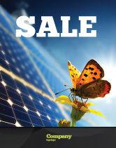 Technology, Science & Computers: Modèle d'Affiche de énergie solaire #07566