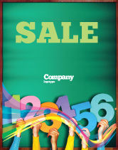 Education & Training: Giving Points Sale Poster Template #07577