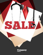 Medical: Rigorous Doctor Sale Poster Template #07594