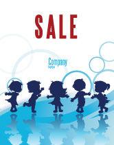 Education & Training: Little Children Sale Poster Template #07607