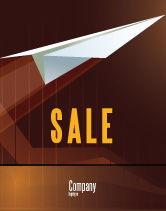 Business Concepts: Flying Up Sale Poster Template #07663