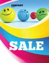 Careers/Industry: Emotions Sale Poster Template #07692