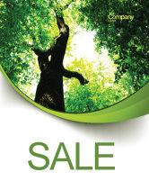 Nature & Environment: 高树海报模板 #07704