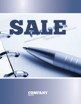 Business Concepts: Project Description Sale Poster Template #07802