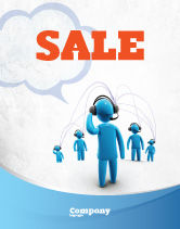 Telecommunication: Wireless Community Sale Poster Template #07910