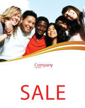 Education & Training: Summer Camp Sale Poster Template #08110