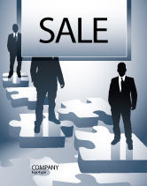 Careers/Industry: Career Stages Sale Poster Template #08120