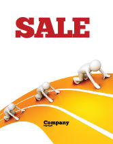 Education & Training: Sprint Runners Sale Poster Template #08194