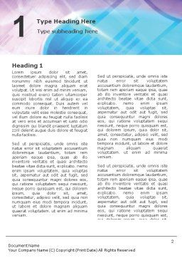 Multimedia Word Template, First Inner Page, 00698, Technology, Science & Computers — PoweredTemplate.com