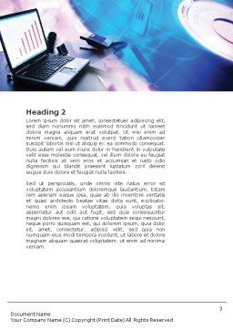 Multimedia Word Template, Second Inner Page, 00698, Technology, Science & Computers — PoweredTemplate.com