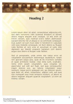 Column Word Template Second Inner Page