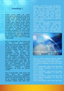 Global Technologies Word Template First Inner Page