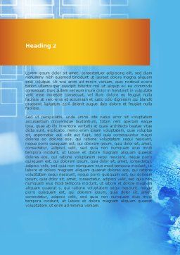 Global Technologies Word Template Second Inner Page