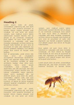 Wafers and Honey Word Template, First Inner Page, 01518, Food & Beverage — PoweredTemplate.com