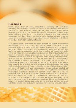 Wafers and Honey Word Template, Second Inner Page, 01518, Food & Beverage — PoweredTemplate.com