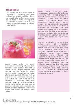 Raspberry Milk Shake Word Template, Second Inner Page, 01564, Food & Beverage — PoweredTemplate.com