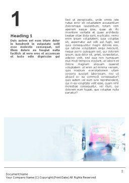 Business Conversation Word Template, First Inner Page, 01574, Business — PoweredTemplate.com