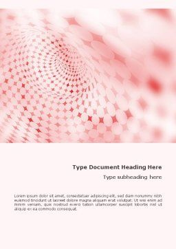 Cheerful Abstract Word Template, Cover Page, 01575, Abstract/Textures — PoweredTemplate.com