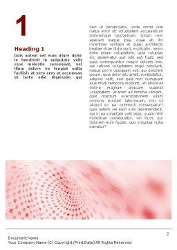 Cheerful Abstract Word Template, First Inner Page, 01575, Abstract/Textures — PoweredTemplate.com
