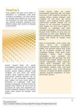 Grid Word Template, Second Inner Page, 01597, Abstract/Textures — PoweredTemplate.com