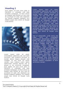 Mechanism Word Template, Second Inner Page, 01604, Utilities/Industrial — PoweredTemplate.com