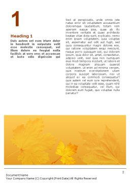 Thanksgiving Word Template, First Inner Page, 01615, Holiday/Special Occasion — PoweredTemplate.com