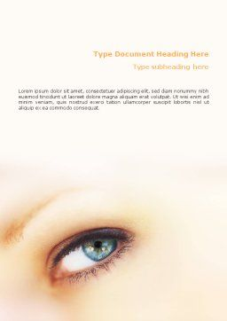 Look Word Template Cover Page