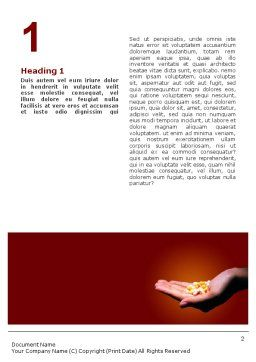 Pharmacies Word Template, First Inner Page, 01637, Medical — PoweredTemplate.com