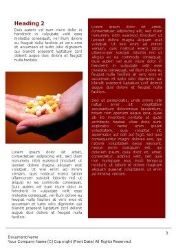 Pharmacies Word Template, Second Inner Page, 01637, Medical — PoweredTemplate.com