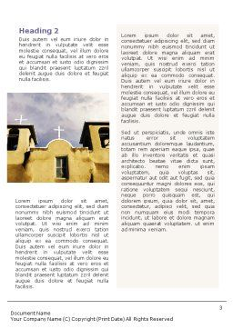 San Francisco de Asis Mission Church Word Template, Second Inner Page, 01655, Religious/Spiritual — PoweredTemplate.com