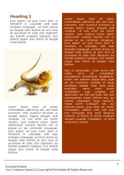 Reptile Word Template Second Inner Page