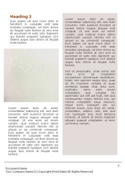 Learn To Word Template Second Inner Page