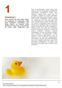 Bath Word Template, First Inner Page, 01668, General — PoweredTemplate.com