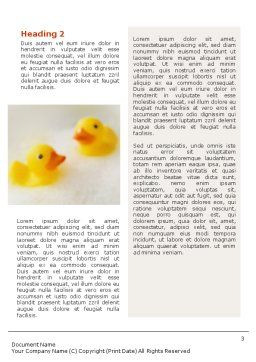 Bath Word Template, Second Inner Page, 01668, General — PoweredTemplate.com