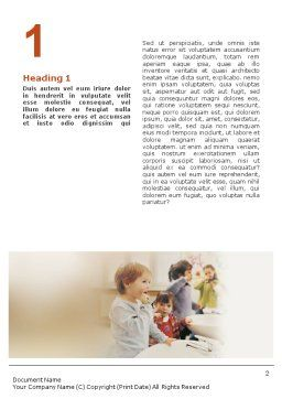 Oral Hygiene Word Template First Inner Page
