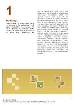 Social Education Word Template, First Inner Page, 01704, Education & Training — PoweredTemplate.com
