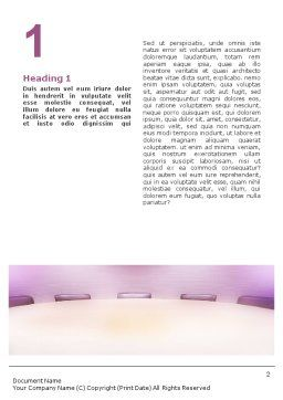 Board Meeting Word Template, First Inner Page, 01731, Consulting — PoweredTemplate.com