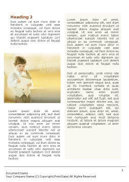 Reading Word Template Second Inner Page