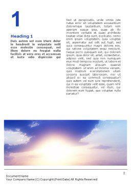 Belfry Word Template, First Inner Page, 01739, Religious/Spiritual — PoweredTemplate.com